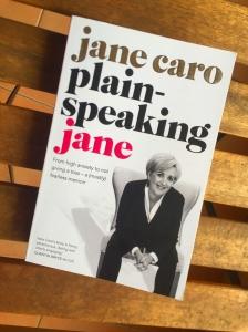 Plain Speaking Jane Book
